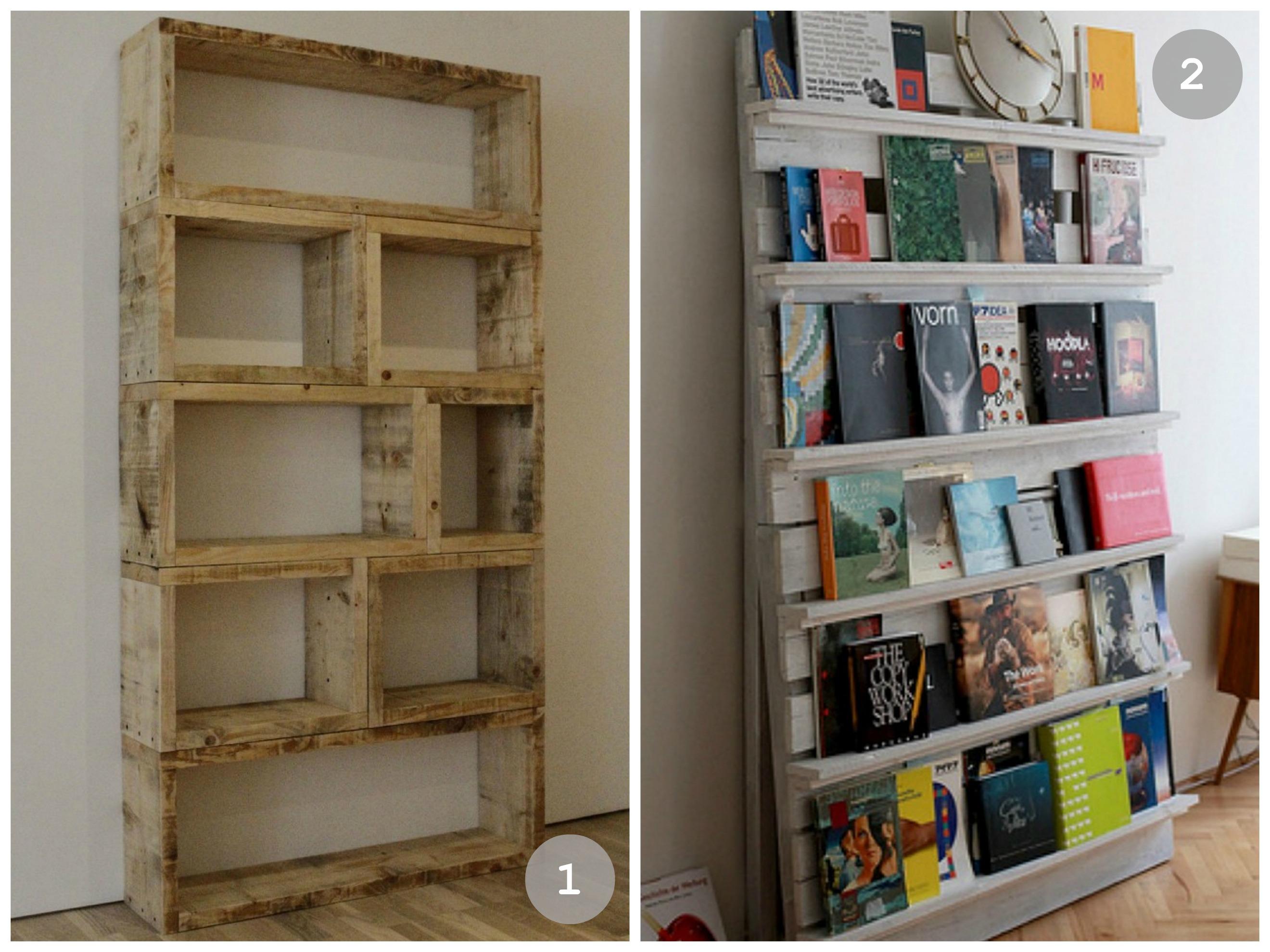 Bücherregal aus europaletten  Bücherregal Selber Bauen Holz | ambiznes.com