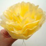 SachenMachen: Serviettenblumen