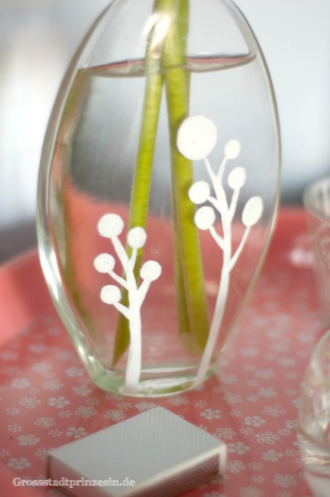 sachenmachen bemalte vasen gro stadtprinzessingro stadtprinzessin. Black Bedroom Furniture Sets. Home Design Ideas