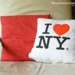 SachenMachen: I Love NY-Kissen