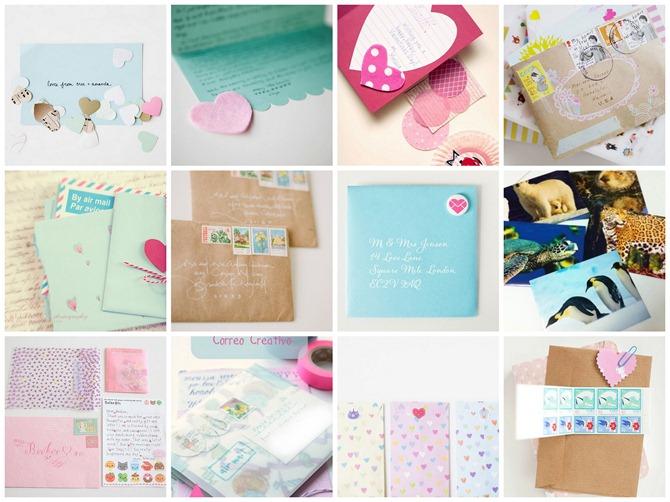 Pretty Mail Collage