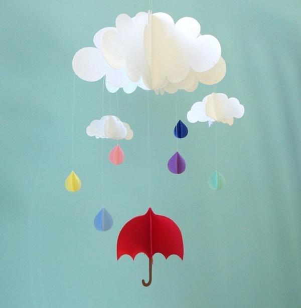 Wolken Basteln Diy Wolken Lampe Basteln F R Interessante