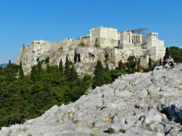 Akropolis vom Areiopag 1