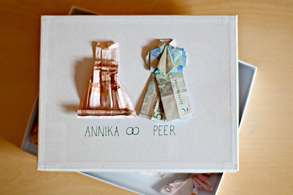 Sachenmachen Ein Hochzeitsgeschenk