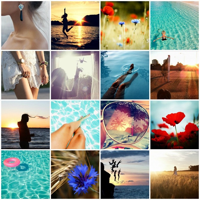 summer collage