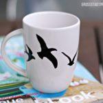 SachenMachen: Vogeltasse