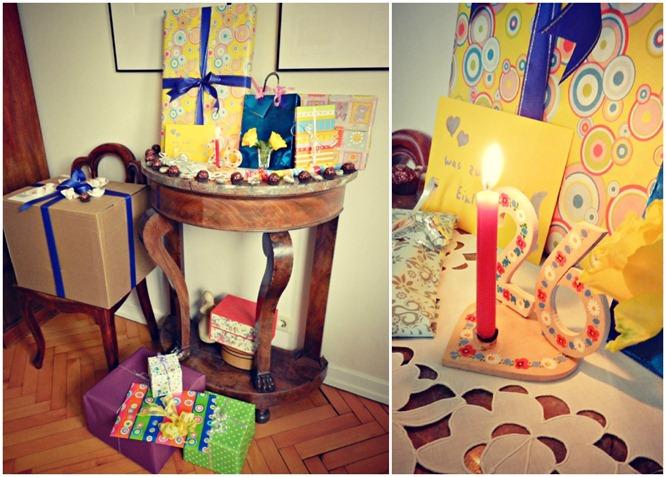Geburtstag Collage