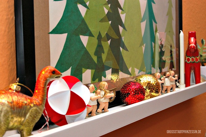 Weihnachtsdeko Detail 1