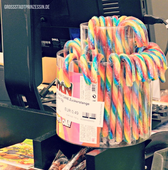 Rainbow Candy Canes