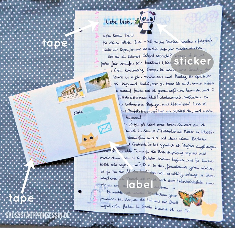 Brief Gestalten Datum : How to write an awesome letter