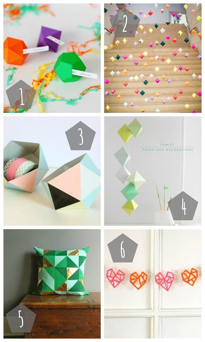 Geometrie-Collage