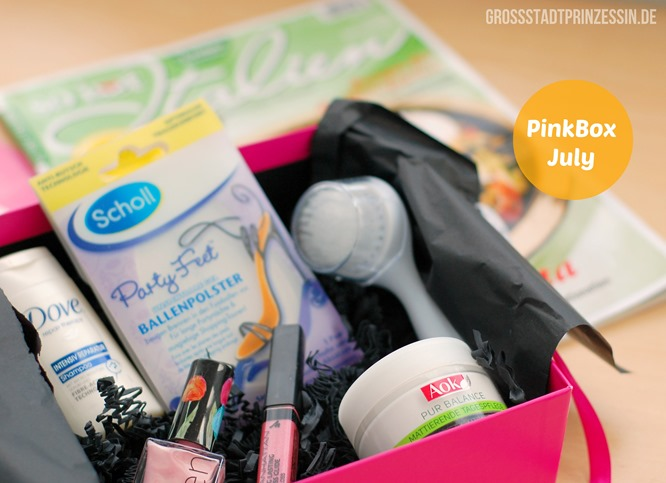 PinkBox Juli 2013