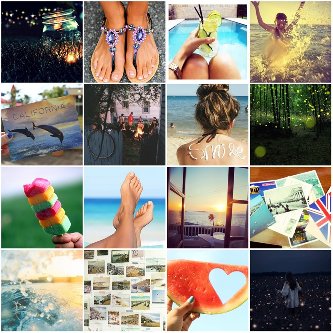 summer 2013 collage