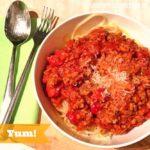 From.Se.Kitschn: Spaghetti mit Blitz-Bolognese