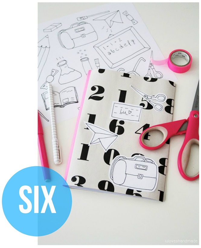 DIY-Dienstag August 2014 SIX