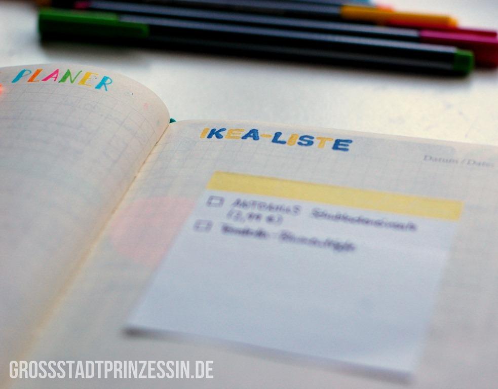 My Bullet Journal - GroßstadtprinzessinGroßstadtprinzessin