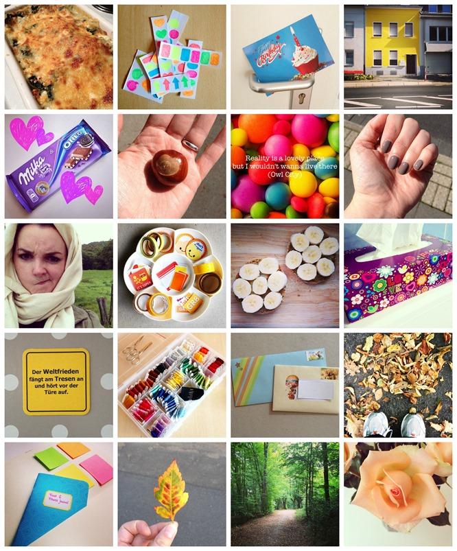 Instarückblick September 2014 Collage
