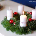 Advent, Advent, ein Lichtlein brennt