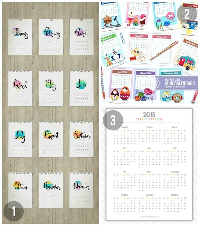 Kalender Sammlung 1