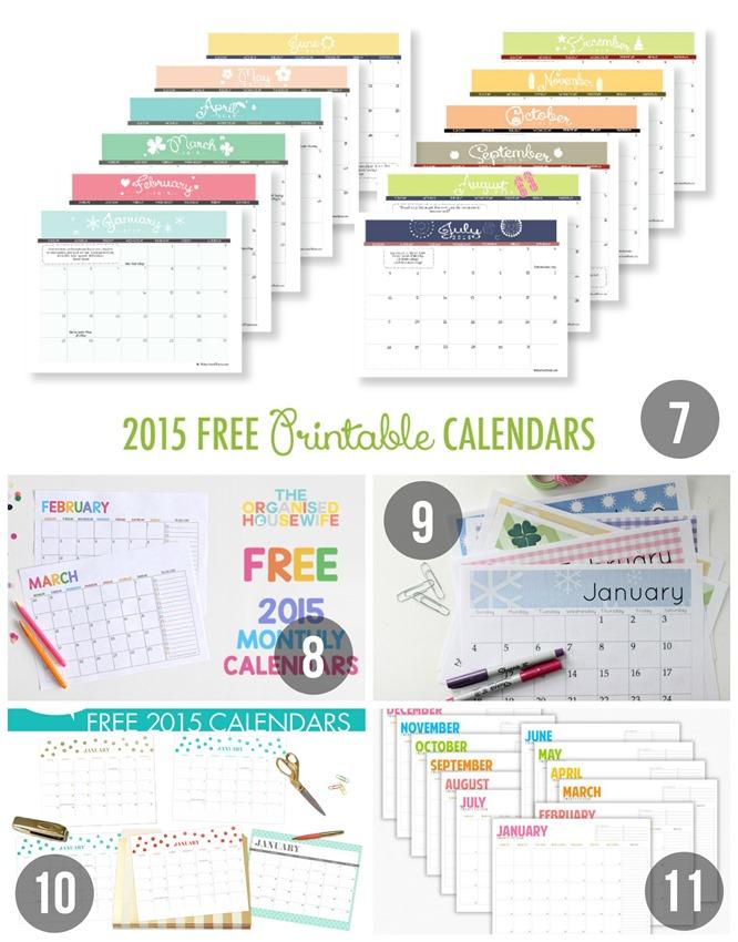 Kalender Sammlung 3
