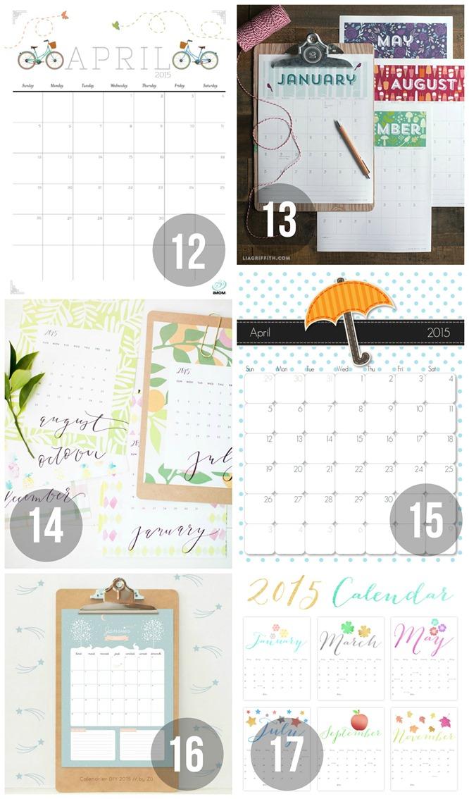 Kalender Sammlung 4
